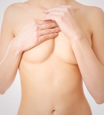 Modest Photo of Torso With Breasts Covered